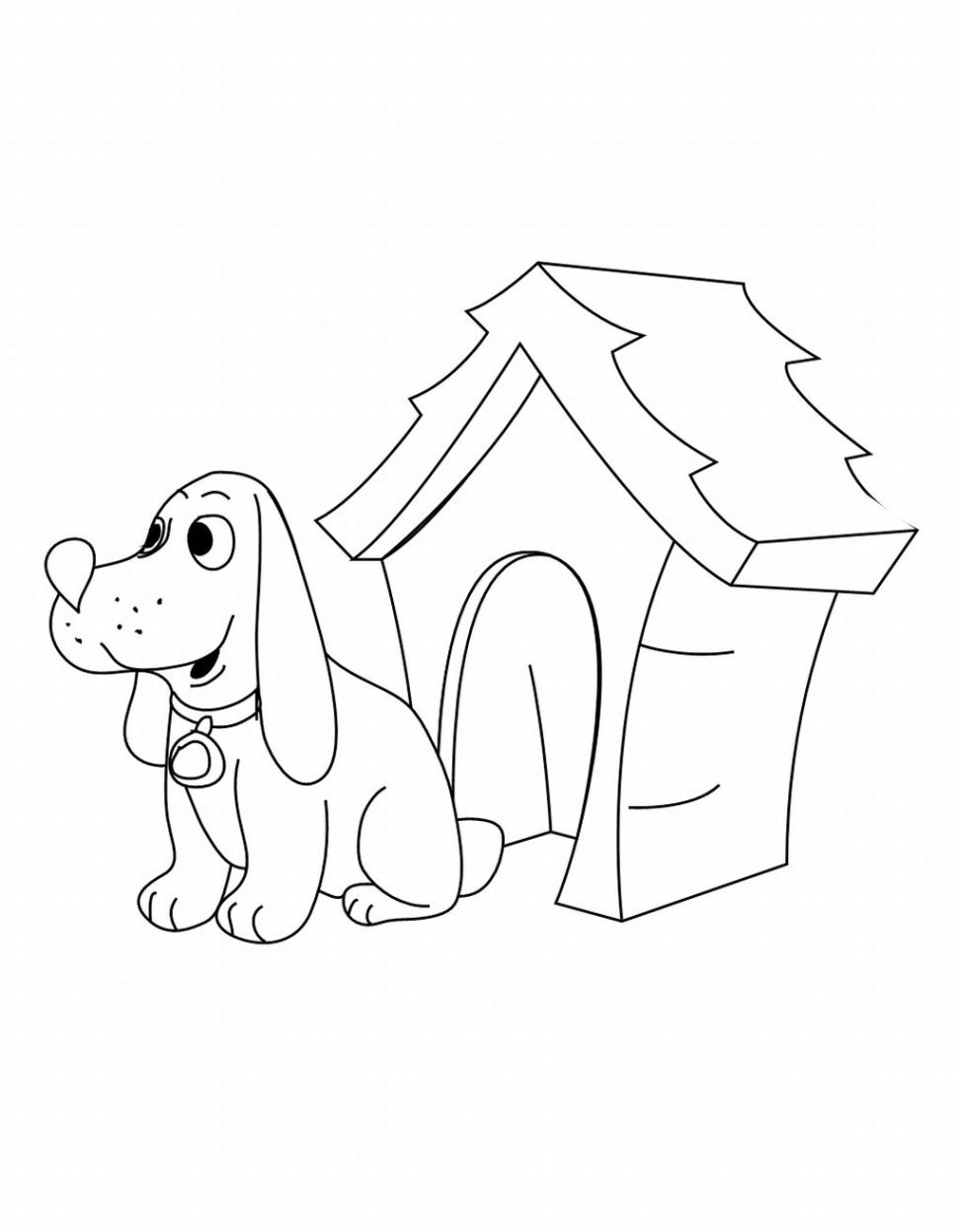 animal homes coloring pages | Print Design / Articles / free printable clifford the big ...